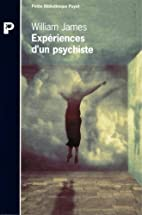 Expériences d'un psychiste by…