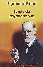Essais de psychanalyse by Sigmund Freud