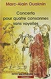 Ouaknin, Marc-Alain: Concerto pour quatre consonnes sans voyelles (French Edition)