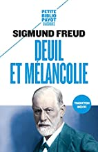 Mourning and Melancholia by Sigmund Freud