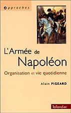 L'Armée napoléonienne.…