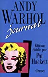Warhol, Andy: Journal