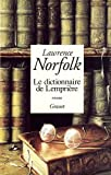 Lawrence Norfolk: Le Dictionnaire De Lempriere