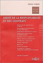 Droit de la responsabilité et des…