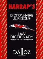 Dictionnaire juridique français-anglais /…