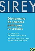Dictionnaire de Sciences Politiques et…