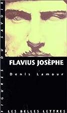 Flavius Josèphe by Lamour Denis