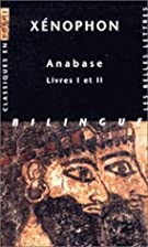 Anabasis, Books 1-2 [Ancient Greek] by…