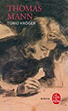 Tonio Kröger by Thomas Mann