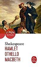 3 Plays: Hamlet; Macbeth; Othello by William…