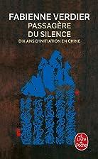 Passagère du silence by Fabienne Verdier