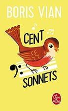 Cent sonnets by Boris Vian