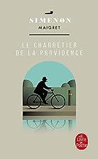 Le Charretier de La Providence (Ldp Simenon)…