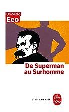 De superman au surhomme by Umberto Eco