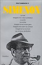 Tout Simenon, tome 11 by Georges Simenon