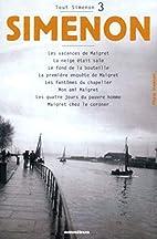 Tout Simenon, tome 3 by Georges Simenon
