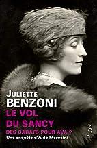 Le vol du Sancy by Juliette Benzoni
