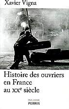Histoire des ouvriers en France au XXe…