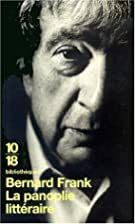 La Panoplie littéraire by Bernard…