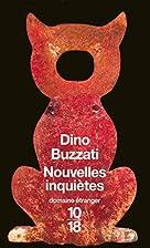 Nouvelles inquiètes by Dino Buzzati