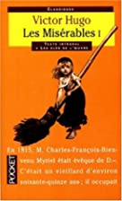 Les Misérables (1/3) by Victor Hugo