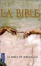 La Bible de Jerusalem (French Edition) by…