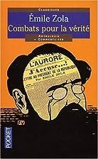 Combats pour la vérité by Émile Zola
