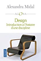 Design (French Edition) by Alexandra Midal
