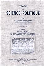 Traité de science politique, tome 6 :…