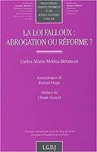 La loi Falloux: abrogation ou réforme…