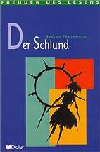Der schlund-livre de lecture-niveau confirme…