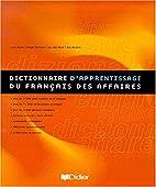Dictionnaire d'apprentissage du…