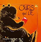 Ours qui lit by Eric Pintus