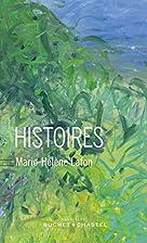 histoires by Marie-Hélène Lafon