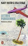 Huston, Nancy: Lettres parisiennes: Histoires d'exil (French Edition)
