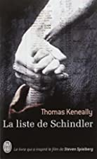 La Liste de Schindler by Thomas Keneally