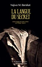 La langue du secret by Najwa Barakat