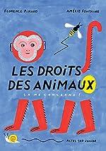 Les droits des animaux : Ça me concerne ! - Florence Pinaud