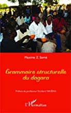 Grammaire structurelle du dagara (French…