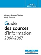 Guide des sources d'information (French…