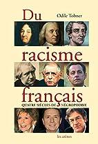 Du racisme français by Odile Tobner