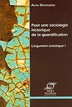 Pour une sociologie historique de la…