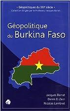 Géopolitique du Burkina Faso by…