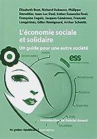 L'économie sociale et solidaire : Un…