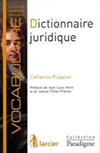 Dictionnaire juridique by Catherine…