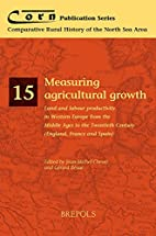 Measuring agricultural growth : land and…