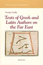 Texts of Greek and Latin Authors on the Far…