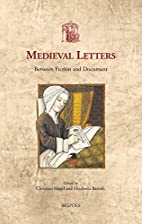 Medieval letters : between fiction and…