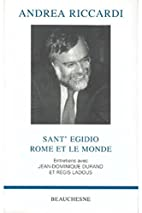Sant 'Egidio, Rome and the World by…