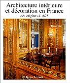 Architecture intérieure et décoration en…